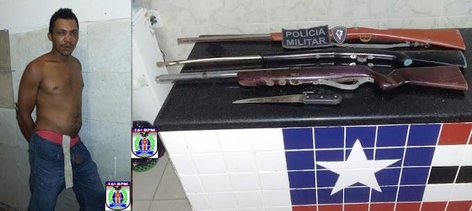 Valentão bate na mãe, irmãos, quebra a casa e cai no xilindró,  em São Bernardo MA.