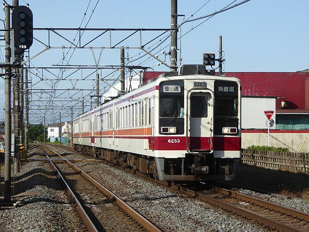 【通学用のレア行先!】東武日光線の新鹿沼行き6050系