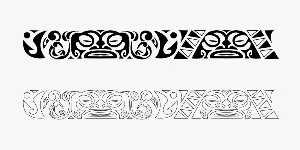 Maori Band Tattoo Design: ART And TATTOO: Bracelets