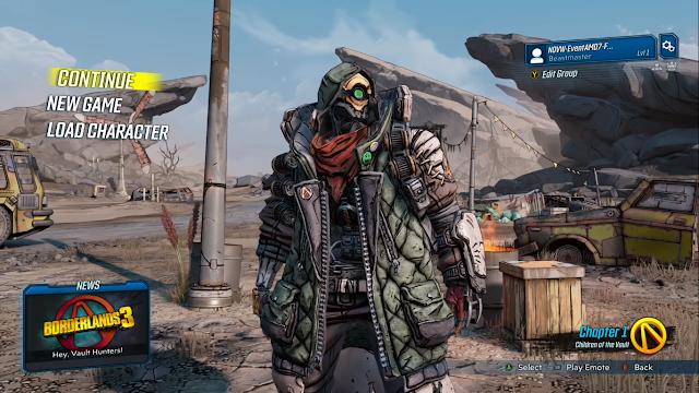 Screenshot Gameplay Borderlands 3