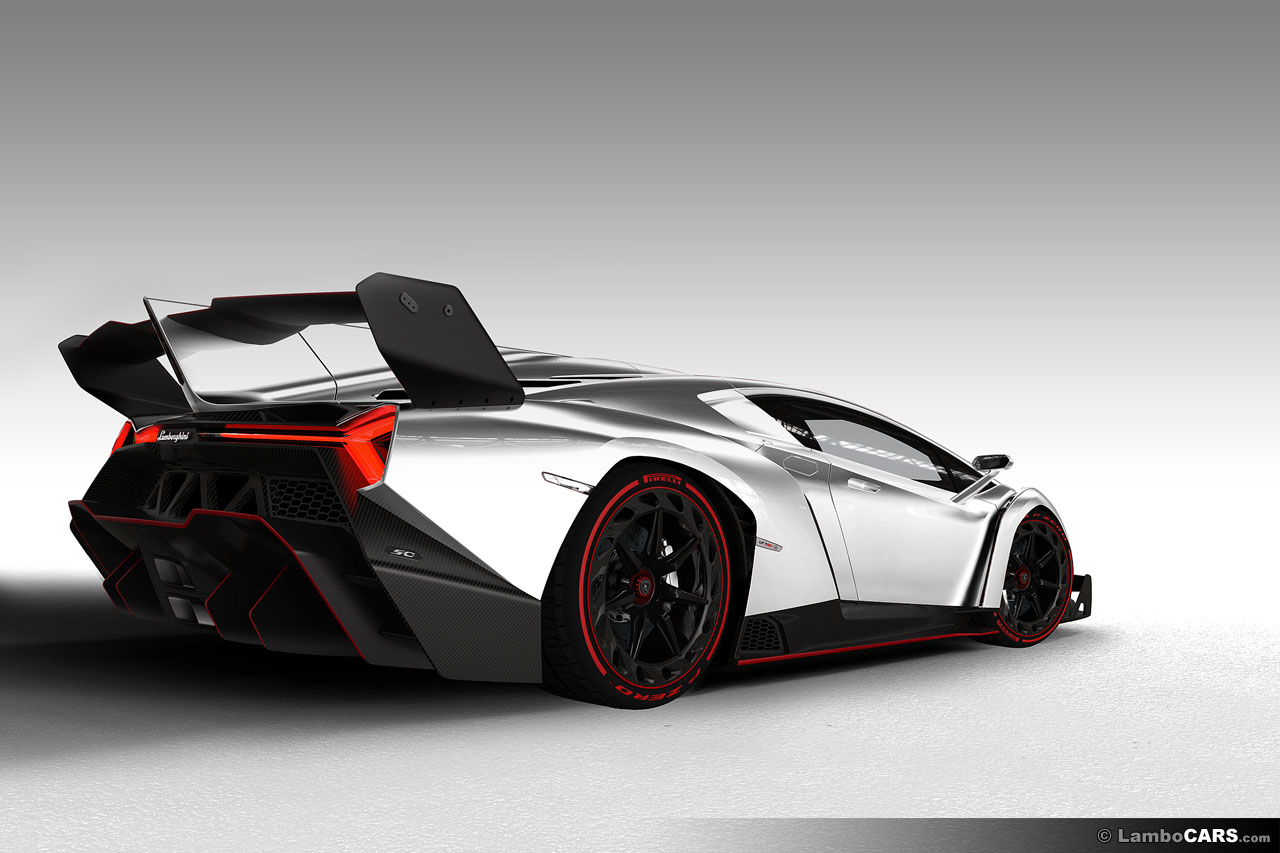 Lamborghini Veneno In Different Colours Could Be Yours
