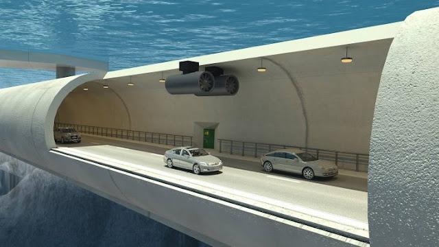 Noruegos planean construir túnel flotante para acercarse