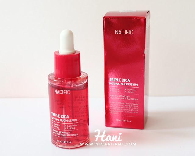 Serum Nacific Triple Cica Natural Mucin