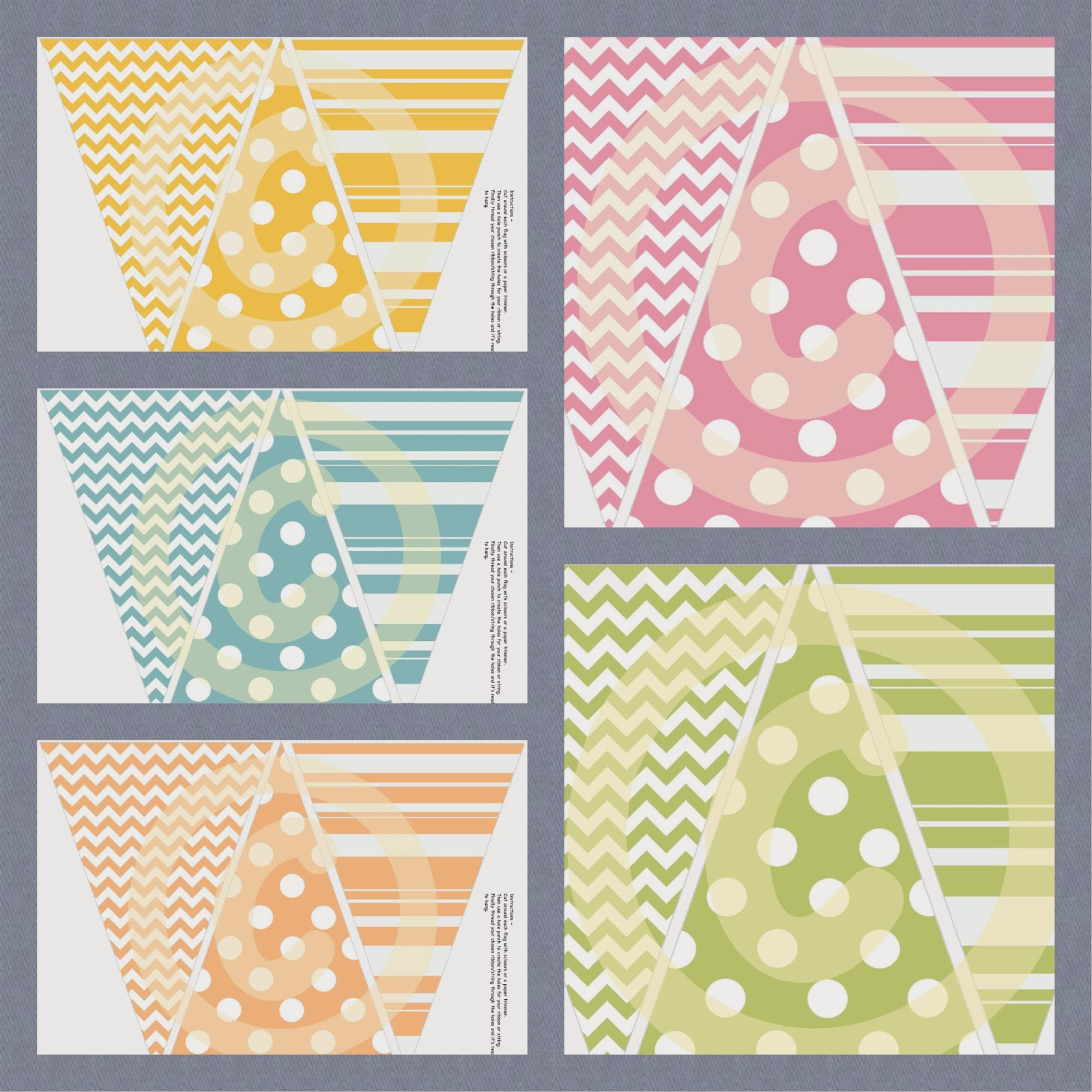 paper party printables mothers day spring printable bunting. Black Bedroom Furniture Sets. Home Design Ideas