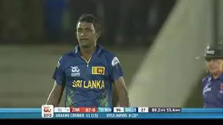 Ajantha Mendis 6-8 vs Zimbabwe Highlights