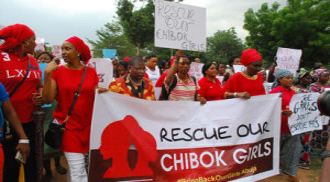 members of the Bring Our Girls Back (BBOG)