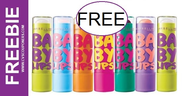 Maybelline Baby Lips CVS Freebie 9/20-9/26