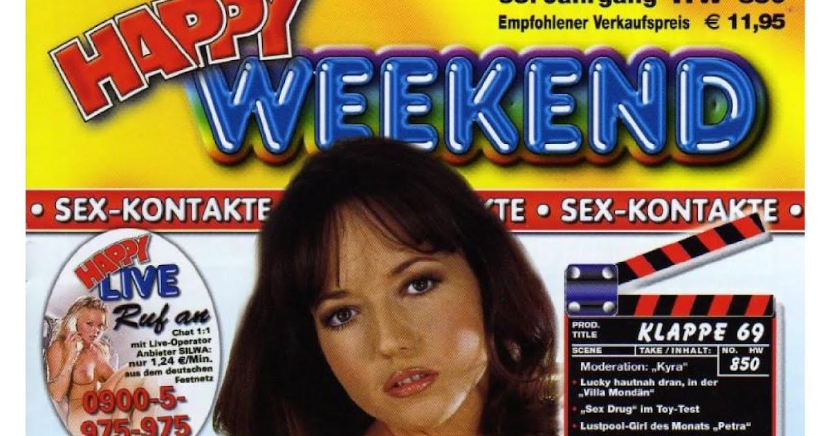 Una raccolta unica di riviste pornografiche: Happy Weekend