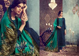 Ib Nx Fluence Pashmina salwar Kameez Collection Winter Wear