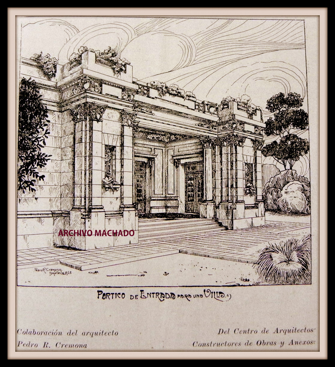 Arquitectos italianos en buenos aires arquitecto pedro r for Arquitecto constructor