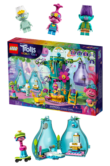 LEGO Trolls World Tour Pop Celebration Tree House Set