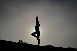 Yoga and Exercise bring happiness
