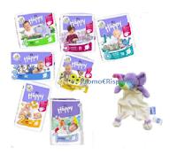 Vinci gratis Pannolini Happy e elefantino Doudou per la nanna