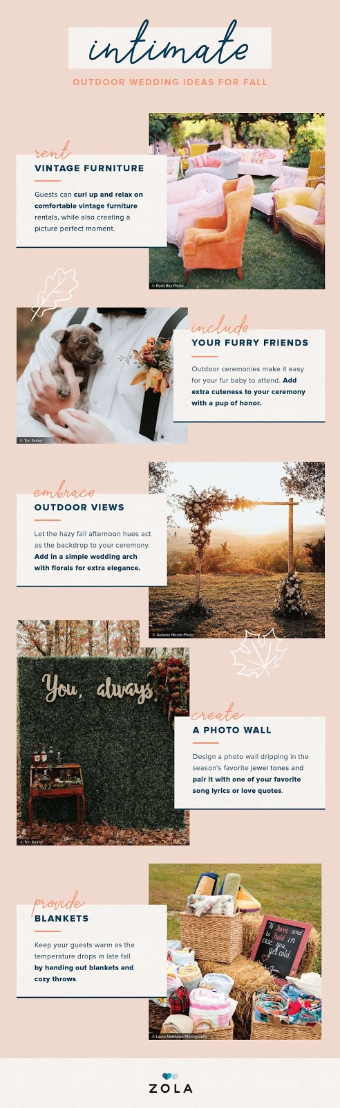 Autumn Wedding Ideas You Will Love- wedding ideas – Wedding Soiree Blog by K'Mich, Philadelphia's premier resource for wedding planning organizer and inspiration
