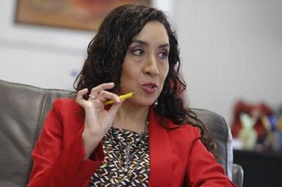Giovanna Prialé, lamentó que las autoridades regionales del Huánuco no hayan cumplido con su compromiso