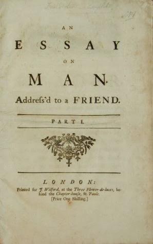 Alexander Pope Essay On Man