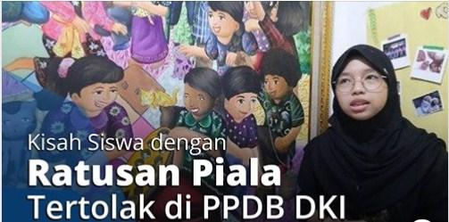 Kisah Siswi Berprestasi dengan 700 Piala yang Tak Diterima di Sekolah Negeri lewat PPDB