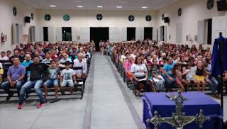 Celebração do Encontro é marcada por Devoção e Fé na Igreja matriz de Baraúna
