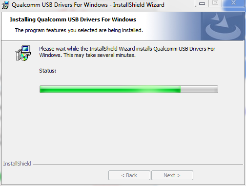 Installing Qualcomm HS-USB DRIVER 1