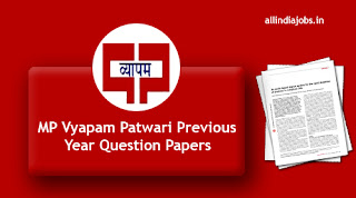 MP Vyapam Patwari Previous Year Question Papers