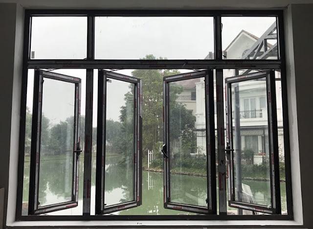Cửa sổ nhôm xingfa 4 cánh đẹp
