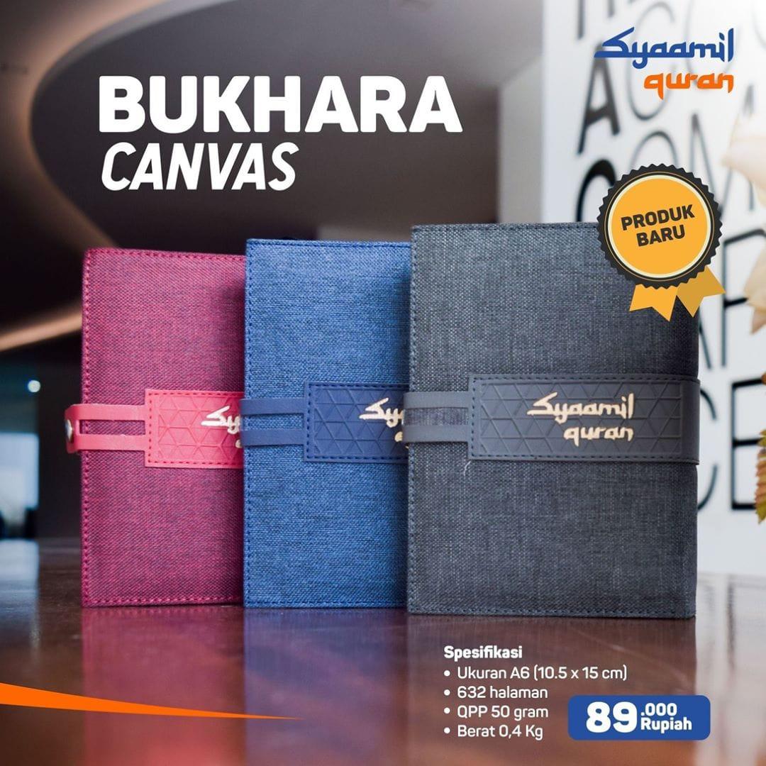 Jual Produk Syaamil Qur'an, Al-Qur'an Bukhara Canvas: Al-Qur'an Dengan Tanda Tajwid Berwarna Dan Asbabun Nuzul