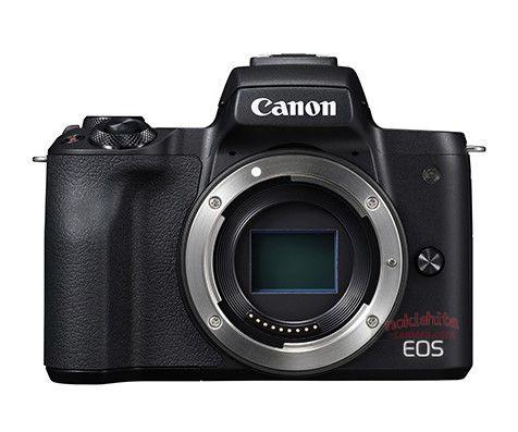 Canon EOS M50, вид спереди