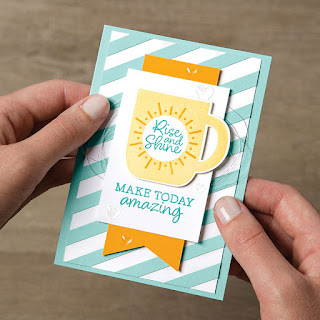 8 Stampin' Up! Rise & Shine Sale-a-Bration Projects + Video #stampinup #saleabration
