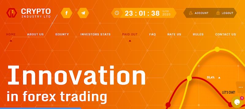 [SCAM] Review Crypto Industry - Lãi từ 4.21% hằng giờ - Thanh toán tức thì