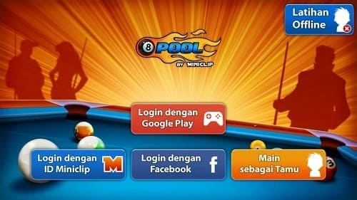 Cara 8 Ball Pool Garis Panjang