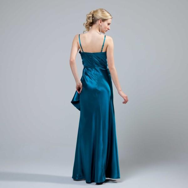 kleid blau - Abendkleider und lange weiche blaue Farbe ...