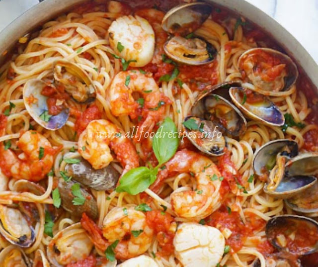 Recipe Seafood Pasta