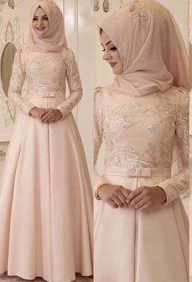 10 Contoh Baju Pengantin Sederhana Muslimah Tapi Modern