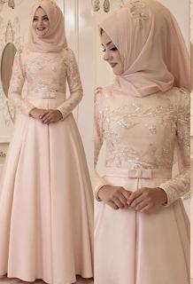 Baju Pengantin Sederhana Muslimah Tapi Modern