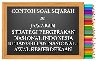 Strategi Pergerakan Nasional Indonesia