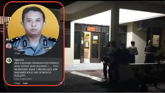 Prajurit TNI Geruduk Polsek Kalasan Gegara Oknum Polisi Hujat Kematian Kru KRI Nanggala