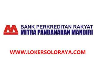 Lowongan Kerja Boyolali AO Lending dan Funding di PT BPR Mitra Pandanaran Mandiri