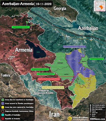 Yerevan informs about Baku's offensive in southern Nagorno-Karabakh