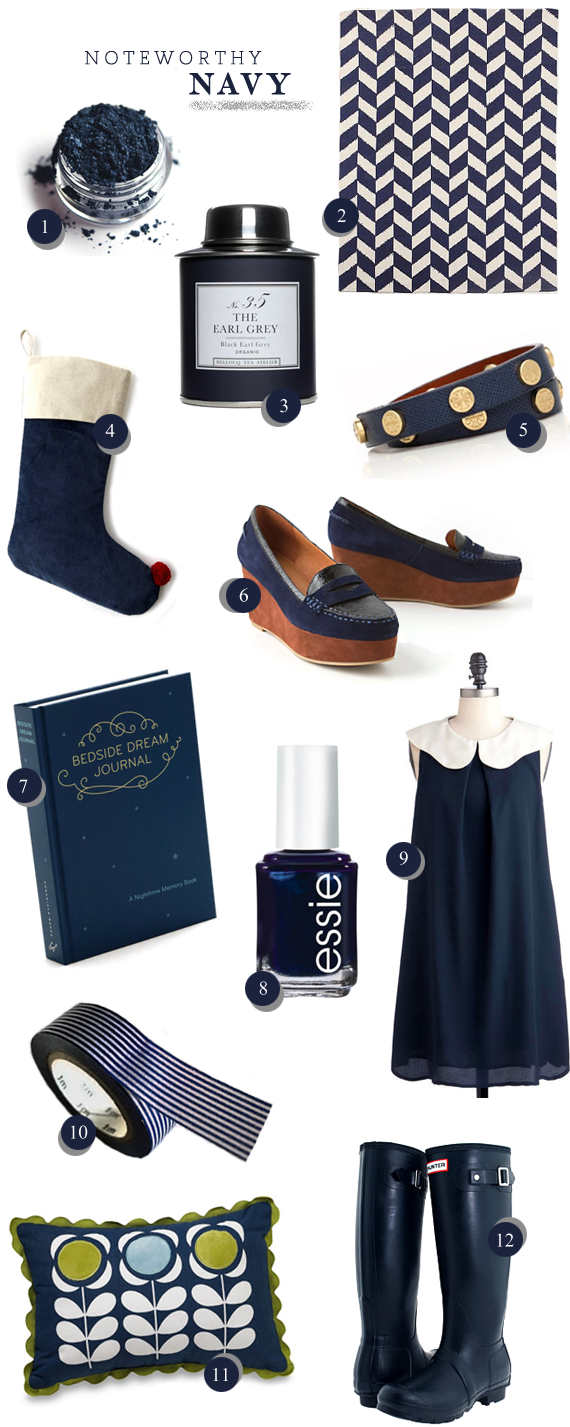 Navy Blue // Bubby and Bean