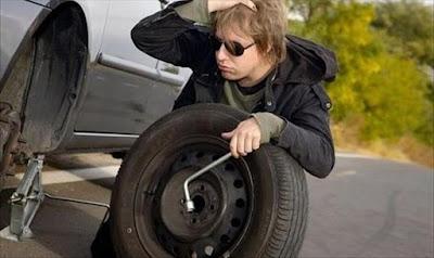أين أضع العجلات الجديدة في أمام أو خلف السيارة