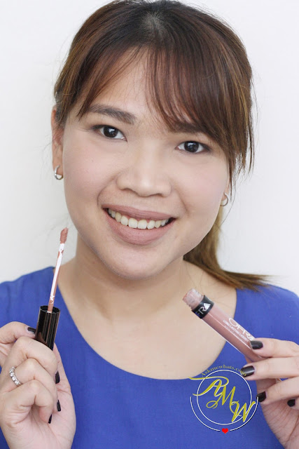 a photo of askmewhats wearing Ofra Long Lasting Liquid Lipstick in MANILA