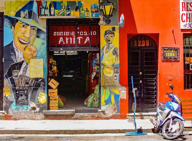 Grafite de Carlos Gardel em Buenos Aires