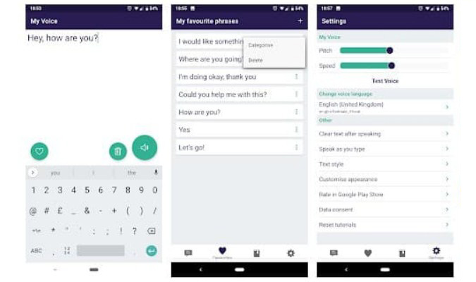 Aplikasi Text-to-Speech Terbaik tuk Smartphone Android - My Voice