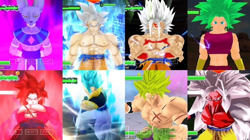 Android Game Dragon Ball Super TTT MOD PSP ISO Download