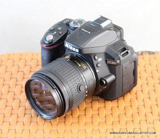 Jual Kamera DSLR Nikon D5300 Wi-Fi Bekas di Banyuwangi