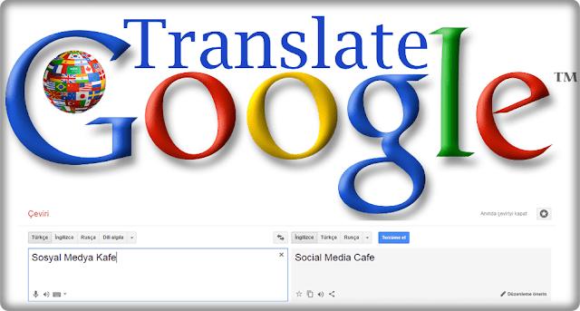 Yeni Google Translate Güncellemesi Türkçe Çeviri