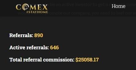 Оборот структуры Comex Trades