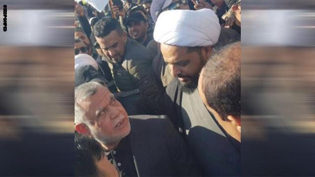 وزير خارجية أمريكا ينشر صورا قريبة للمهندس والخزعلي وقادة بالحشد حول السفارة ببغداد.. إليكم ما قاله