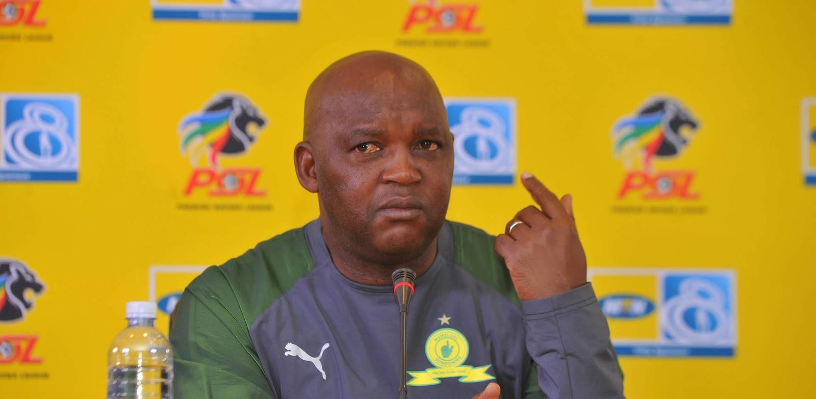 Mamelodi Sundowns head coach Pitso Mosimane