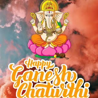 happy ganesh chaturthi cute images